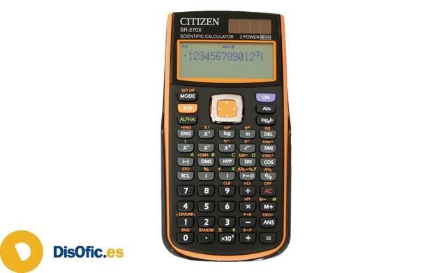 Calculadora Programable Citizen SR-270XOR