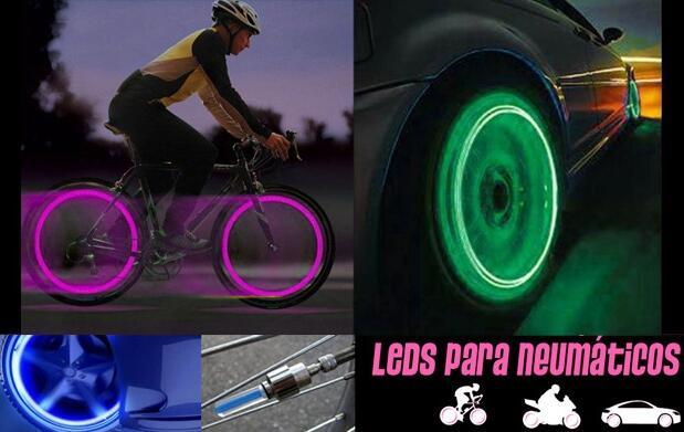 Luces LED para bici, coche o moto