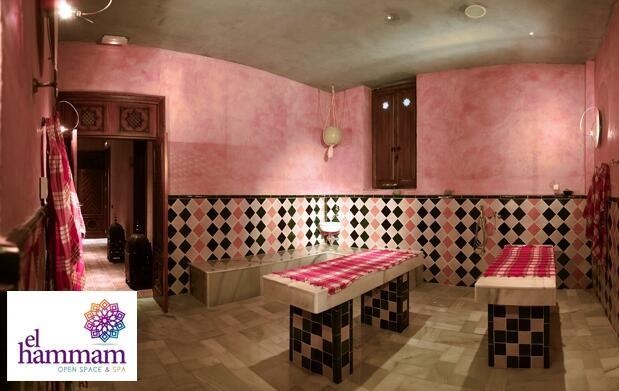 Baño para 2 en el nuevo hammam de Málaga