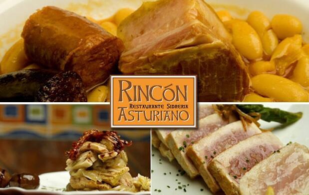 Banquete asturiano para 2 y entradas al Mariposario