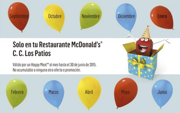 Ahora tu Happy Meal ™ por tan solo 1 €