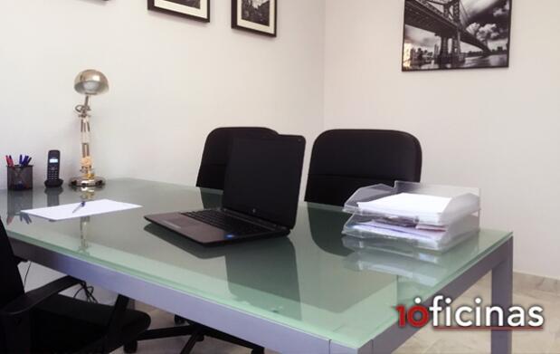 Alquiler de puestos de coworking y despachos