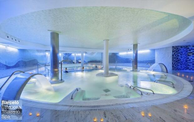 Circuito Spa con bañera de terapia