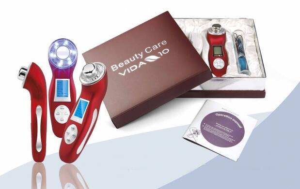 Sistema reductor de celulitis y cuidado personal 5 en 1 por 89,90