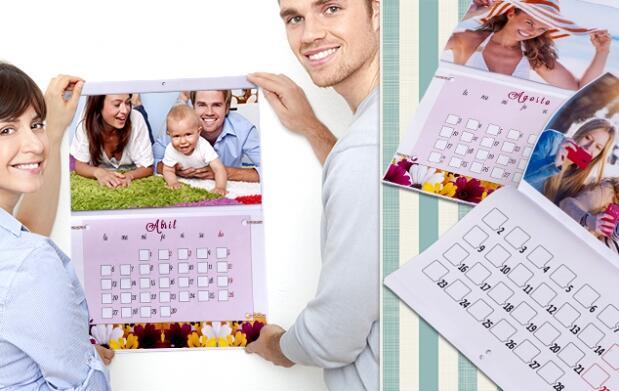 Calendario 2016 personalizado ¡Incluye espacio para tus anotaciones diarias!