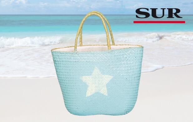 Consigue tu cesta de playa de moda con SUR