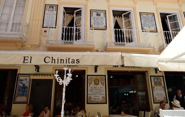 4 tapas 'Albóndigas de Choco' en Chinitas
