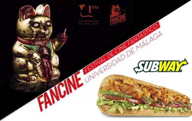 Invitación a Fancine y bocadillo en Subway