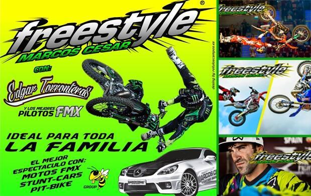 Entradas para Freestyle Motor Show Marcos César