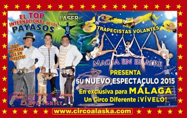 Últimas entradas para el Gran Circo Alaska
