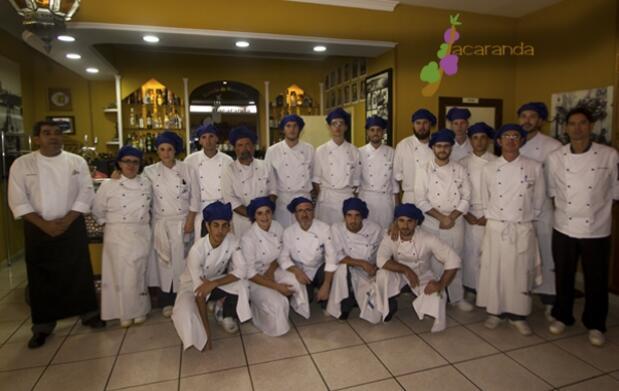 Menú degustación Gourmet en la Escuela Jacaranda