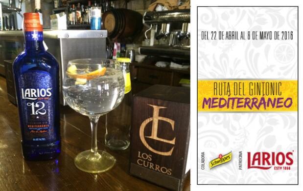 2 Gin-Tonics en Los Curros