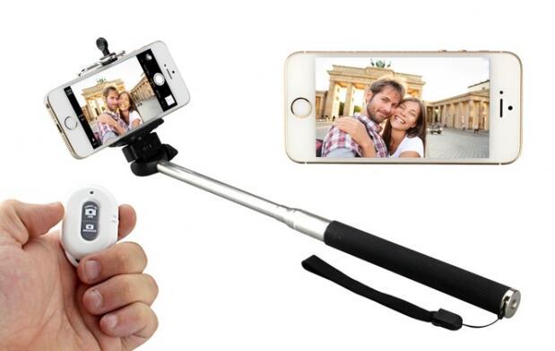 Palo de selfie + mando bluetooth + trípode por 16.99 €