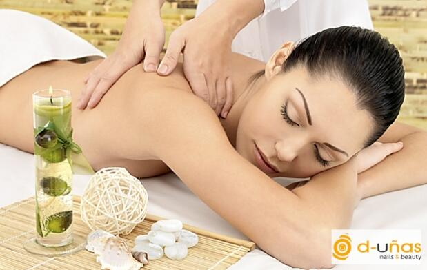 Dos o cuatro masajes completos relajantes, descontracturantes o de drenaje linfático