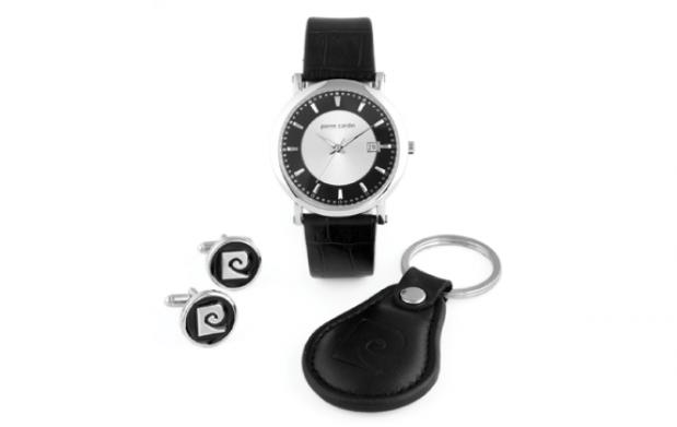 Set de accesorios Black Night de Pierre Cardin