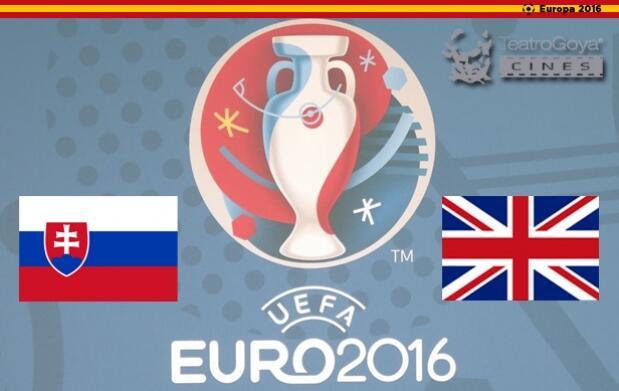 Eurocopa de Cine: Eslovaquia Vs Inglaterra + 3 horas parking