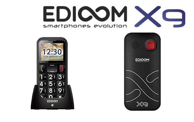 Edioom X9 Dual Sim para Personas Mayores