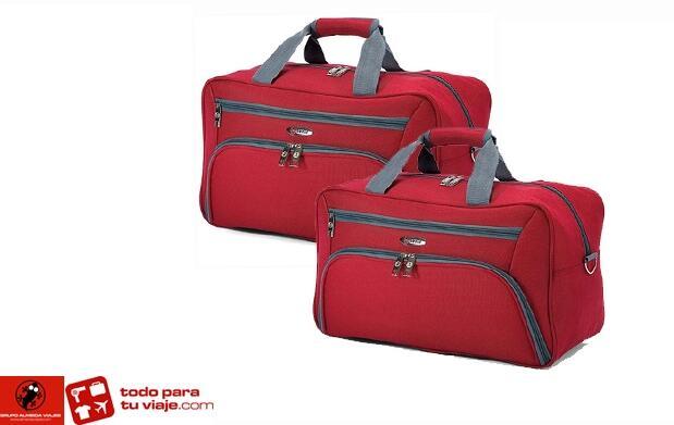 Trolley  y 2 bolsas para tus viajes