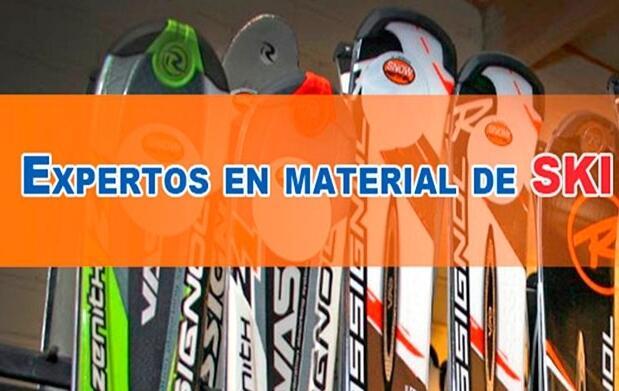 Alquiler de material para esquiar
