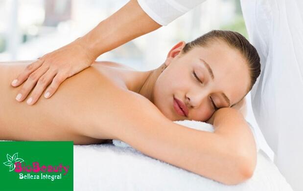 ¡Relájate! Masaje corporal y tratamiento facial shiatsu
