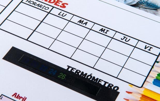 Consigue tu calendario escolar 2015/2016 personalizado con termómetro desde tan solo 4,9€