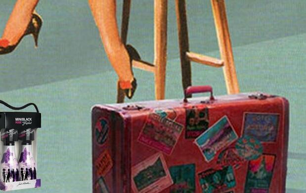 Conoce a 'La chica de la maleta roja'