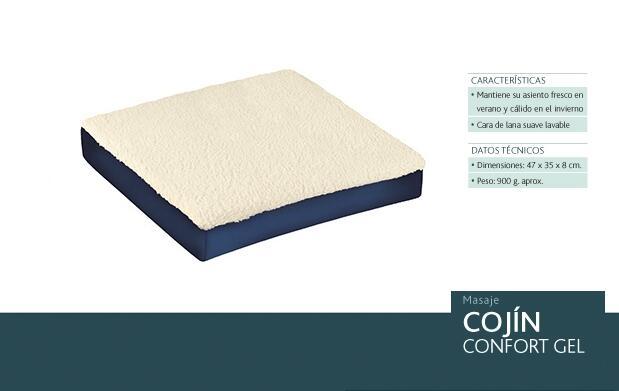 Pack de 2 cojines Confort Gel JRD