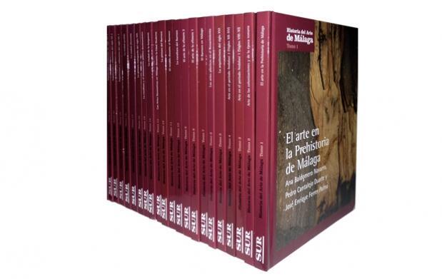 Enciclopedia Historia del Arte de Málaga 26 Tomos
