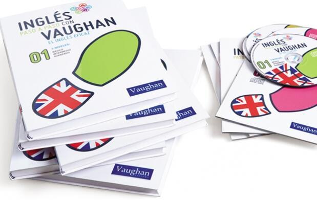 Curso completo en 41 libros, Inglés paso a paso con Vaughan