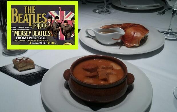 Invitación a The Beatles Tribute + Menú en El Fogón del Alcázar
