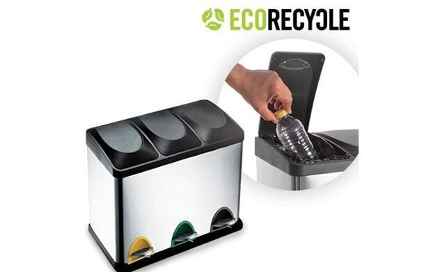 Cubo de basura de reciclaje Eco Recycle
