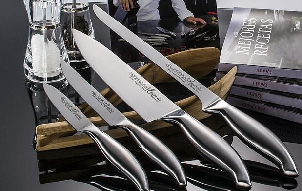 Cuchillos Quttin + Manta y Recetario