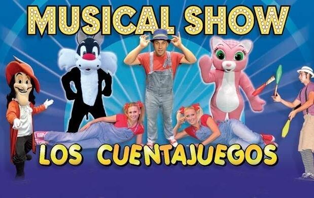 ¡Ven a ver el show de Los Cuentajuegos!
