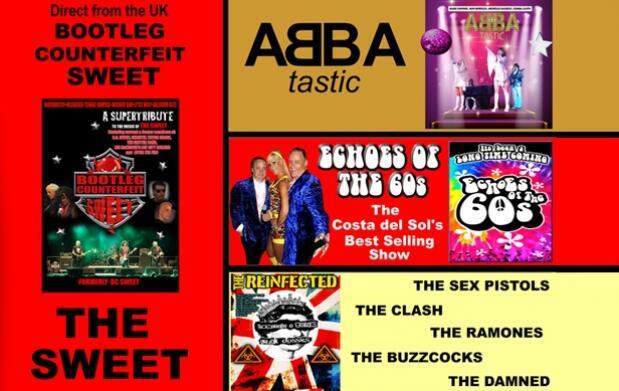 Festival de las Leyendas: ABBA, lo mejor de los 60's, homenaje punk y The Sweet