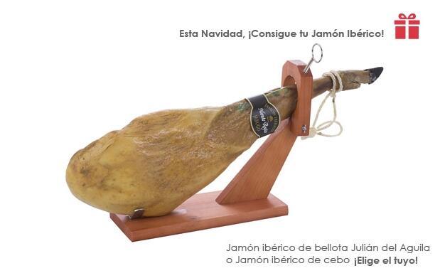 Esta Navidad, ¡Consigue tu Jamón Ibérico!