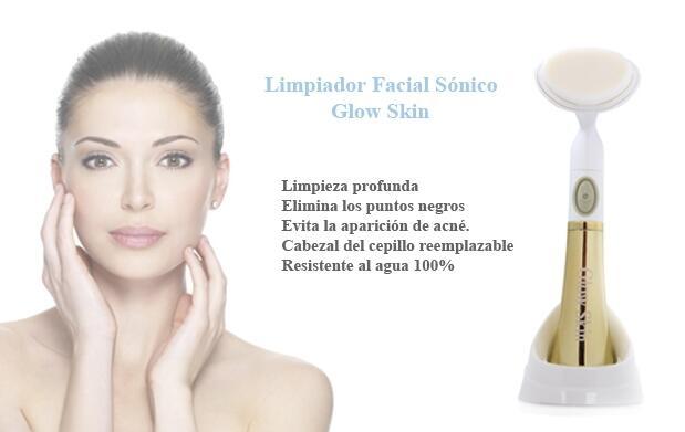 Limpiador Facial Sónico - Glow Skin