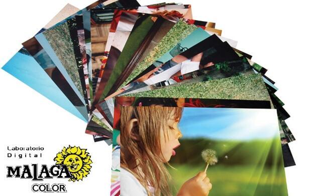 Imprime 100 fotos al mejor precio
