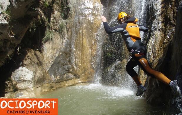 Barranquismo en Río Verde con Ociosport