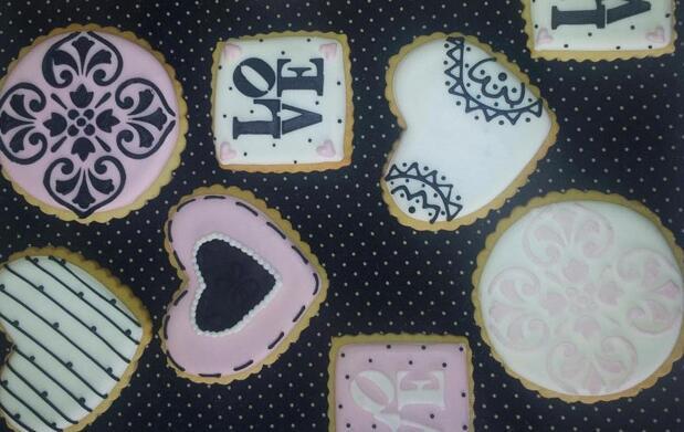 Aprende a hacer galletas de San Valentín