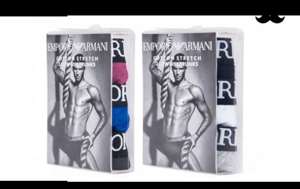 Pack 3 Boxer Emporio Armani