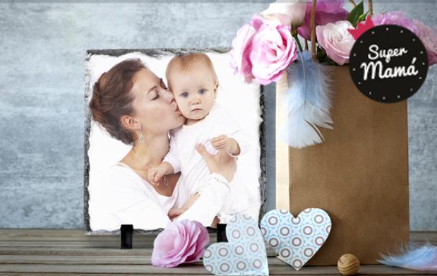 Maravilloso marco de piedra para el día de la madre