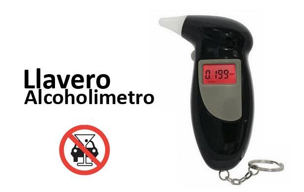 Llavero Alcoholímetro