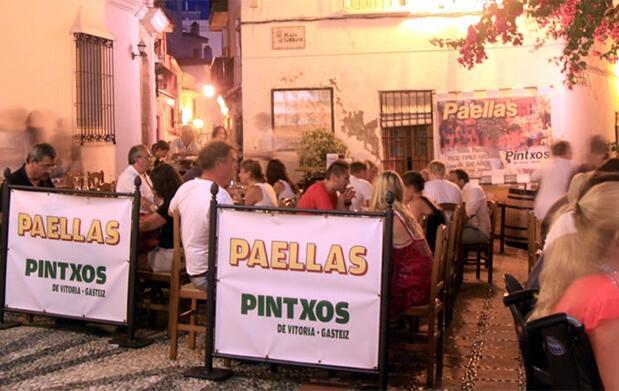 Sabor a pinchos de Vitoria en Marbella