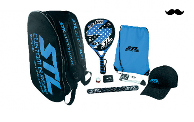 Pack de Padel Steel Custom GD Edición Limitada