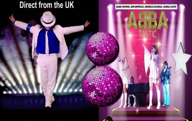 Concierto tributo a Michael Jackson + ABBA