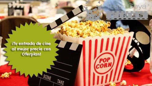 Entrada de cine lunes, martes y jueves a cualquier película