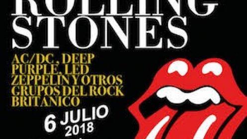 Entrada para el Tributo a Rolling Stone el 6 de julio