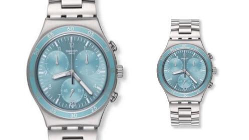 Regalo para el día del padre: reloj Swatch azul