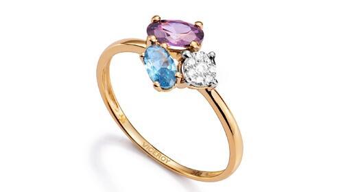 Regalos para ella: anillo Viceroy Jewels 9k