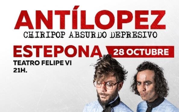 Entrada para el concierto de Antílopez en Estepona
